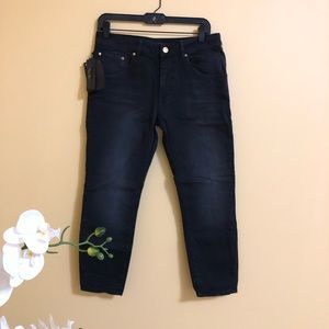 NEW Zara baggy fit black jeans size 6